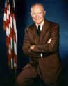 34th U.S. President DWIGHT DAVID EISENHOWER