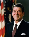 40th U.S. President RONALD WILSON REAGAN